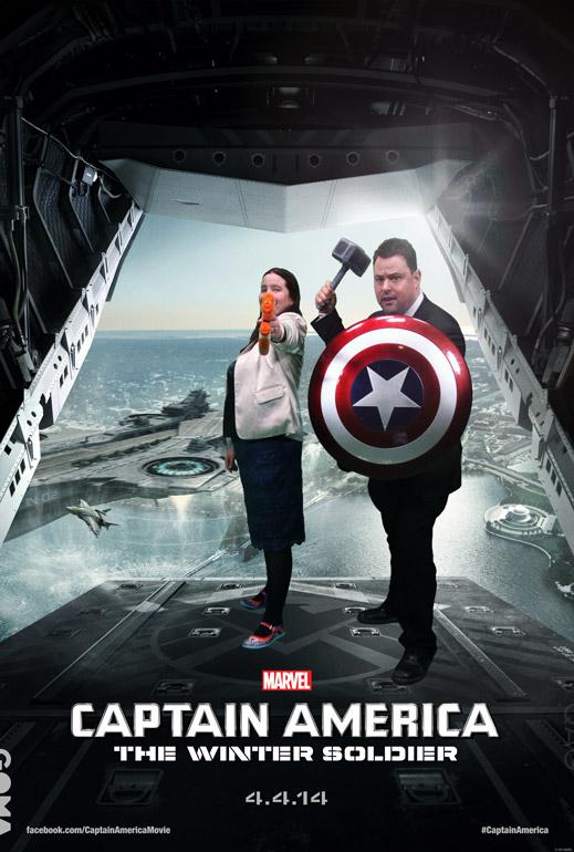 Captain America Karen and Lloyd