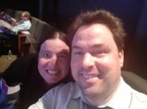 Karen and I before the movie. Copyright Lloyd Marken