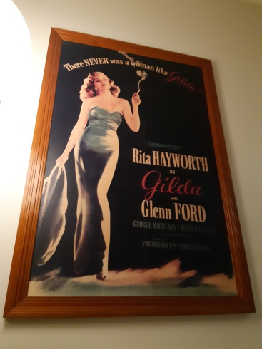 Gilda poster at New Farm Cinemas. Copyright Lloyd Marken.