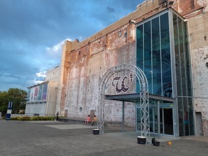 The Brisbane Powerhouse on Sunday arvo. Copyright Lloyd Marken.