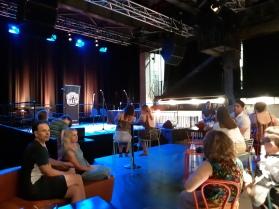 Queensland Theatresport Championships. Copyright Lloyd Marken.