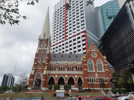 Albert Street Uniting Church. Where Karen and I got married. Copyright Lloyd Marken.