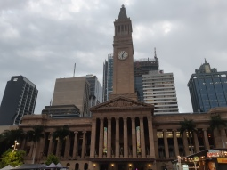 Brisbane City Hall. Copyright Lloyd Marken.