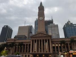 Brisbane City Hall. Copyright Lloyd Marken.