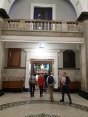 Exiting the main entrance. Copyright Lloyd Marken.