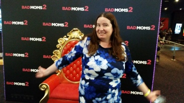 About to see Bad Moms 2 in 2017. Copyright Lloyd Marken.