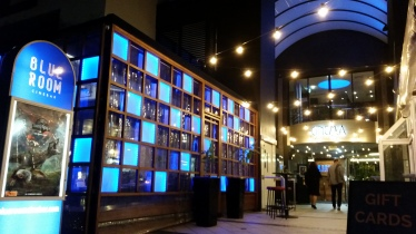 Blue Room Cinebar for the first time to attend a critics' screening of 'The Breaker Upperers' 03JUL2018. Copyright Lloyd Marken.