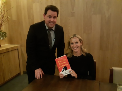 With author Lauren Weisberger at the Brisbane Writers Festival 2018. Copyright Lloyd Marken.