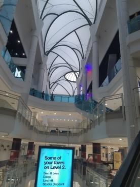 Myer Centre Cinemas in Brisbane CBD for 'Captain Marvel' 05MAR2019. Copyright Lloyd Marken.