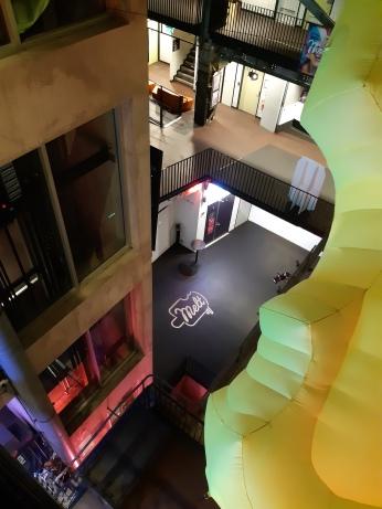 Two floors up. Copyright Lloyd Marken.