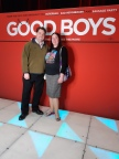 Karen and I at the preview screening of 'Good Boys'. Copyright Lloyd Marken.