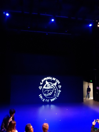 Before the show. Copyright Lloyd Marken.