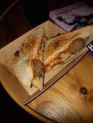 Meatball sandwich. Copyright Lloyd Marken.