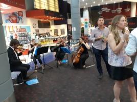 Musicians performed. Copyright Lloyd Marken.