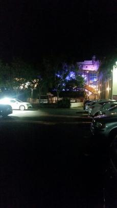 The Brisbane Powerhouse at night. Copyright Karen Marken.