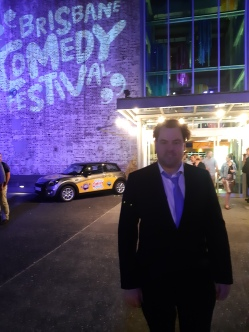 Outside after th show. Copyright Lloyd Marken.