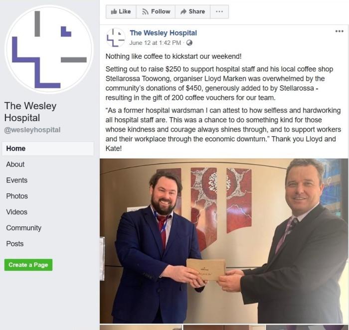 Wesley Facebook