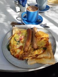 Brunch omelette. Copyright Lloyd Marken.