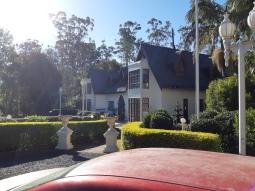 Leaving Stonehaven Guest House. Copyright Lloyd Marken.