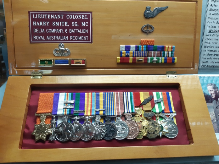 Harry Smith's medals. Copyright Lloyd Marken.