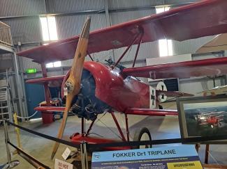 """""""Get out of that Fokker you Fokker."""" Copyright Lloyd Marken."""