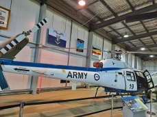 The AS350 Squirrel which served in the Australian Army, Royal Australian Navy and Royal Australian Air Force. Copyright Lloyd Marken.