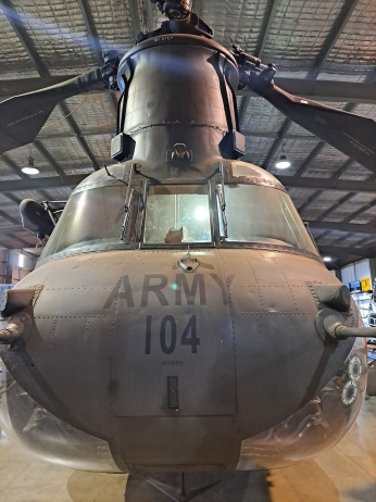 CH-47 Chinook. Most recently used by the Australian Army during the horrendous bushfires last summer. Copyright Lloyd Marken.