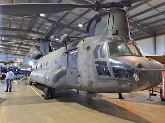 CH-47 Chinook. Copyright Lloyd Marken.
