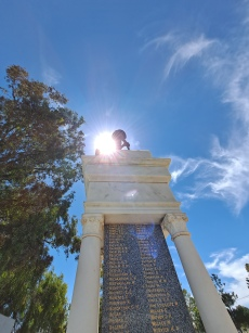 Oakey ANZAC Memorial. Copyright Lloyd Marken.