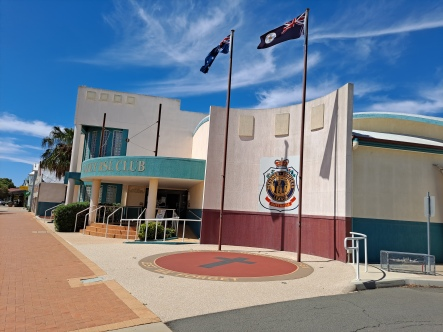 Oakey RSL Club. Copyright Lloyd Marken.