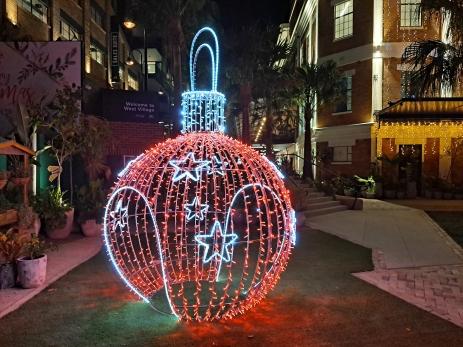 Christmas Decorations. Copyright Lloyd Marken.