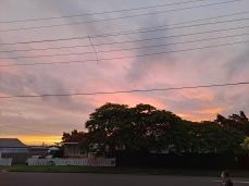 Quiet sunset on Saturday. Copyright Lloyd Marken.