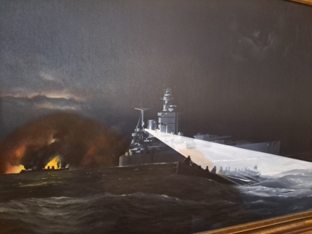 A painting from the collection at QMM. Copyright Lloyd Marken.