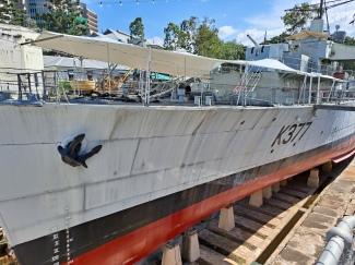 HMAS Diamantina. Copyright Lloyd Marken.