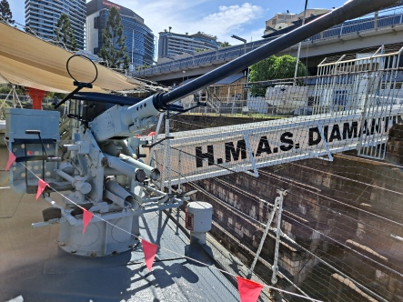 Bofors anti-aicraft guns. Copyright Lloyd Marken.