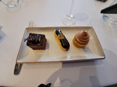 Dessert options. Copyright Lloyd Marken.