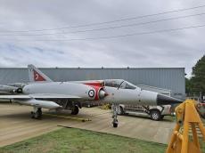 Dassault Mirage III at Fighter World. Copyright Lloyd Marken.