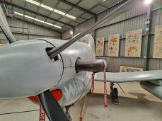 Up close with the PC-9. Copyright Lloyd Marken.