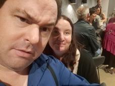 Karen and I at 'Triple X'. Copyright Lloyd Marken.